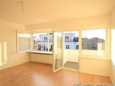 Single-Apartment mit Penthouse-Feeling am Roseneck