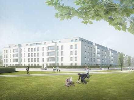 Drei-Zimmer-Wohnung mit West-Loggia, KfW-Effizienzhaus 70
