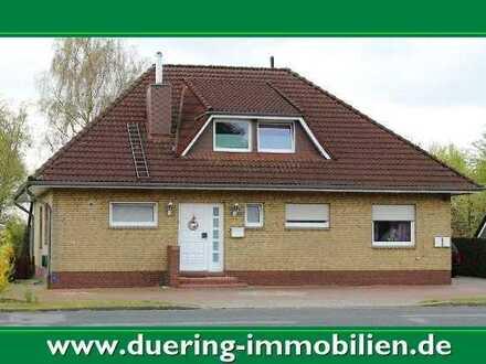 Erdgeschosswohnung mit Garten in Rhauderfehn! Schöne Kanallage!