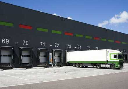 PROVISIONSFREI: ca. 25.000 qm Neubau Lager   Rampe + ebenerdig   ca. 10,50 m UKB !