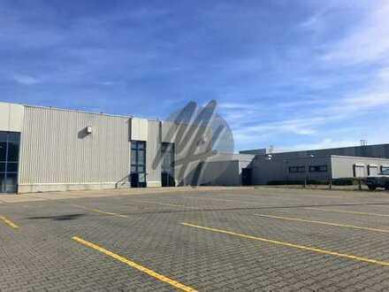 KEINE PROVISION ✓ Lager-/Produktion (2.200 m²) & optional Freilager (3.000-12.000 m²) zu vermieten