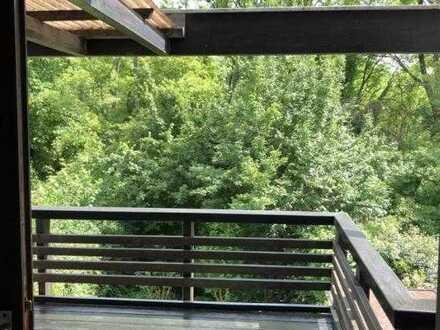 WG zu Dritt in 150qm Haus mit Sauna, Kamin, Garten, Balkon, Terasse, Hausbar...