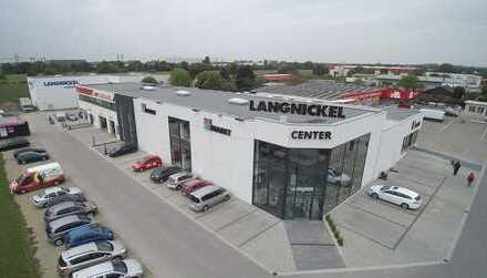 Moderne Büroräumlichkeiten im neuen Langnickel Center