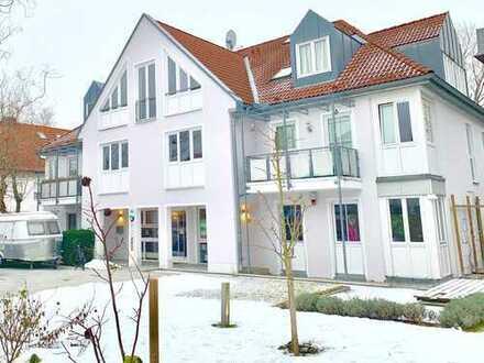 Stilvolle, helle. gepflegte 2-Zimmer-Dachgeschosswohnung mit EBK in Puchheim
