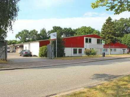 Produktions- und Lagerhalle an der A7/ E45