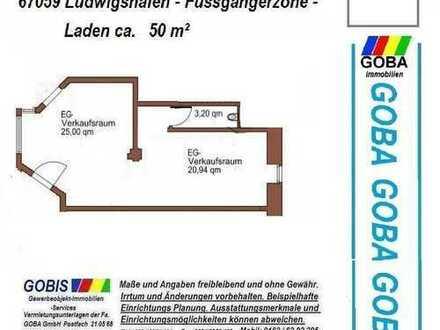 Lu TOP LAGE - Laden / Büro ca. 50 m² - Ausstattung n. V. - Fussgängerzone nahe Rathaus Center -