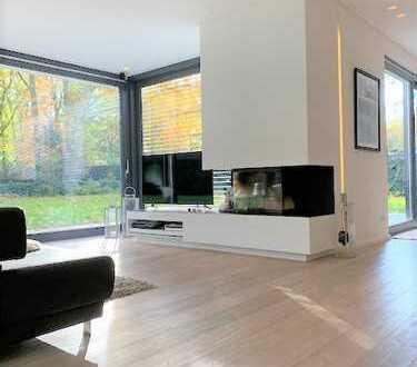 REFORCE - Möblierter Luxus Cubus mit Terrasse und Garten im Hahnwald