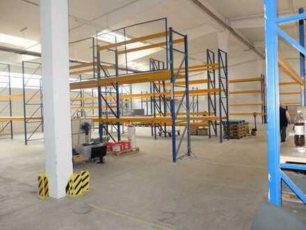 690 ebenerdige Lager/Produktionshalle + 298 m² Büro, repräsentative Optik, 5 Minuten zur Messe Riem!