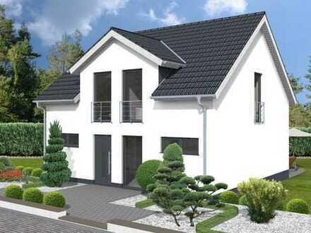*Ein Architektenhaus inklusive Keller im reinen Wohngebiet mit Fernblick*