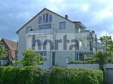 Herrliche 4,5-Zimmer-Maisonette-Wohnung mit 2 Balkonen + Teilseesicht in KN-EGG