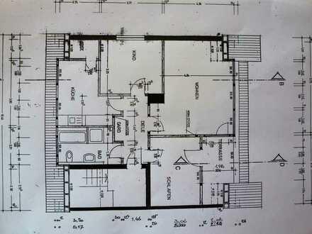 Gepflegte 3,5-Zimmer-Dachgeschosswohnung mit Balkon in Mühlenfeld