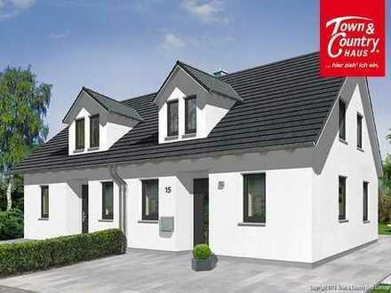 Doppelhaushälfte inklusive Grundstück in TOP-Lage