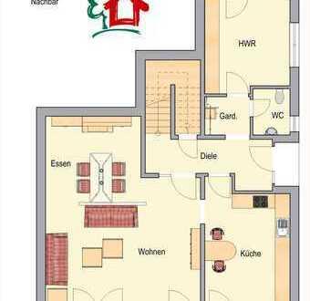 Vermietung - Helle 3-Zimmer-Wohnung auf 2 Ebenen mit Garten in Borken-Marbeck (Außenbereich)