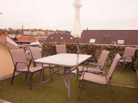 Helle DG-Wohnung mit großer Dachterrasse und 2 weiteren Balkonen