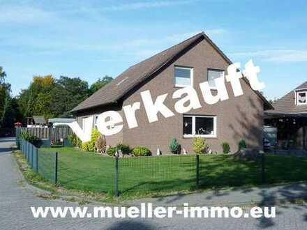 Gepflegtes Einfamilienhaus im Ortskern in Hesel. M1809