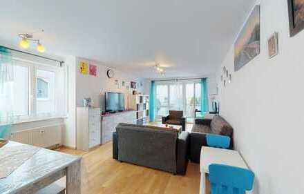 Praktisch geschnittene 4,5 Zimmer-Wohnung mit Balkon und 2 Tiefgaragenstellplätze