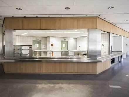 Gastrofläche mit voll ausgestatteter Großküche zu vermieten!