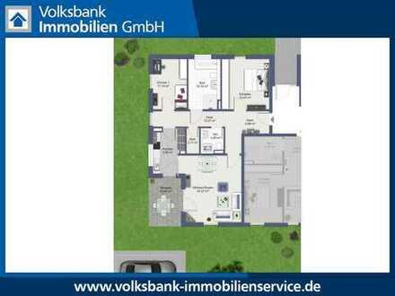 Erstbezug! Neubau Erdgeschoss-Wohnung mit Terrasse und Garten in Nettetal-Lobberich!