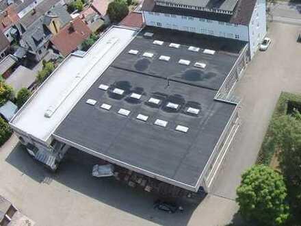 Lager- und Produktionsflächen ab 200 m² zu vermieten