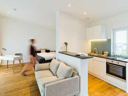 Großes Apartment mit Dachterrasse *Hochwertigst möbliert*H2F