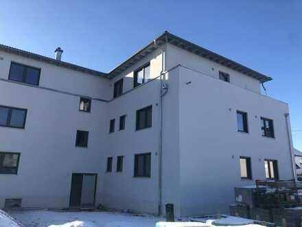3-Zimmer-Erdgeschoßwohnung in Dietenheim mit schöner Terrasse und Garten