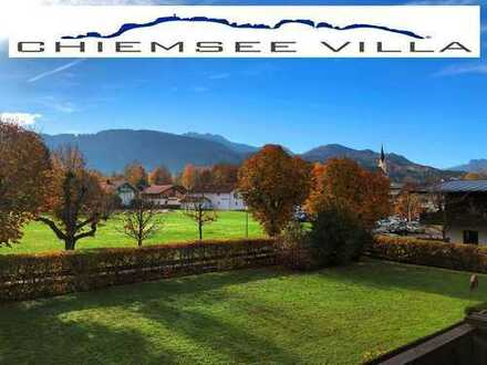 BEREITS VERMIETET! BERGBLICK, RUHE, SONNE, ZENTRAL, 3.5 Zi in Bernau von Chiemsee Villa Immobilien.