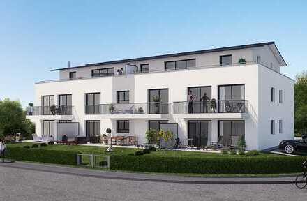 Großzügige zwei-Zimmer Erdgeschosswohnung mit eigenem Gartenanteil