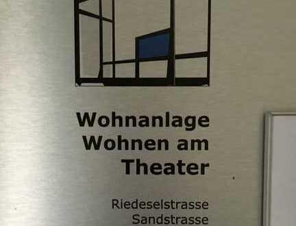 Wohnen am Theater in Zentraler Lage Erdgeschosswohnung