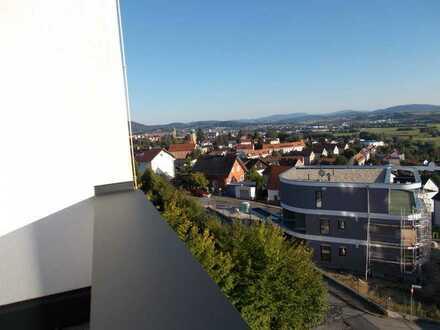Erstbezug: stilvolle 3-Zimmer-Penthouse-Wohnung mit EBK und Balkon in Cham (Kreis)