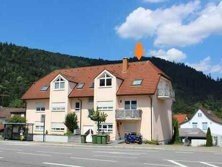 Neckargemünd: Kleine aber feine Wohnung mit Neckarblick und guter Verkehrsanbindung! (# 5108)