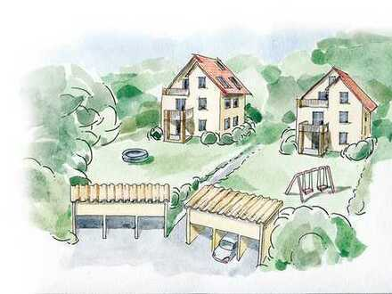 3-Zimmer-Neubau-Wohnung mit Terrasse und Gartenanteil in Birkenwerder