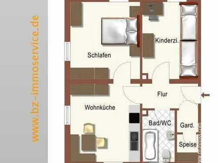 2,5-Zimmer-EG-Wohnung