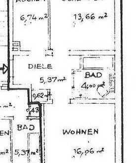 Frisch renovierte Wohnung in Mülheim sucht eine neue 2er WG
