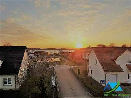 + Maklerhaus Stegemann + Penthouse-Wohnung mit umlaufender Dachterrasse und Seeblick