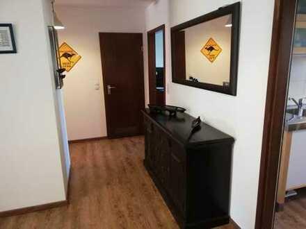 Wohnung mit Extra Platz: 3-Zimmer-Wohnung mit Terrasse, Garten und 80 m² ausgebautem Untergeschoss