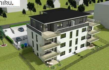 Yuniku. Einzigartig Wohnen in Büdingen. Gemütliche Penthousewohnung mit geräumiger Dachterrasse