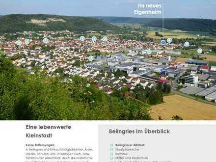 Architektenvilla Neubau in Top-Lage am Altmühlgarten von Beilngries (Naturpark Altmühltal)