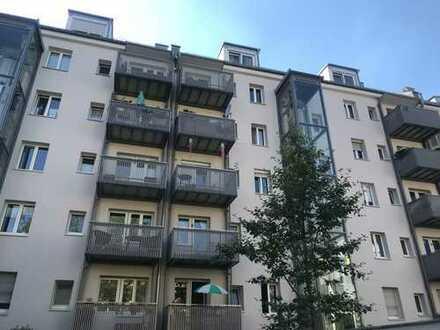 BOGENHAUSEN-RUHIG/ZENTRALE LAGE Hochwertige moderne 2-3 Zimmer Wohnung mit Balkon zum Innenhof
