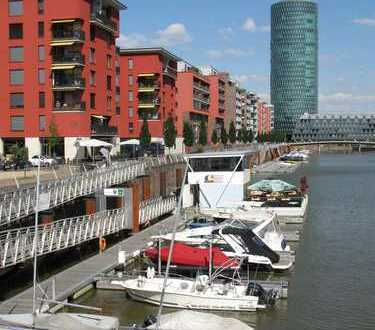 + WESTHAFEN + Preis möbliert + exklusive Lage in Frankfurt + provisionsfrei