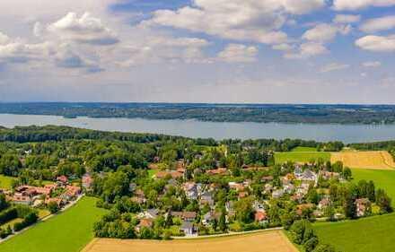 Berg - Neubau Doppelhaus-Villa in ruhiger Südausrichtung! Nur 800m zum See!