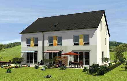 Für Familien: KfW 55-Reihenhaus mit Garten und Stellplätzen im Speckgürtel von Frankfurt am Main