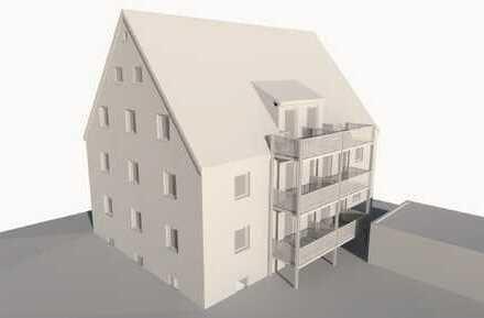 Erstbezug nach Sanierung: ansprechende 3-Zimmer-Wohnung mit Balkon in Schwabmünchen