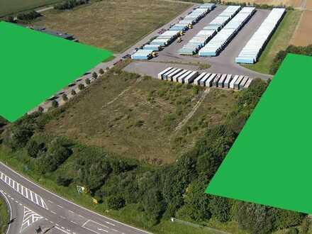 Parkplätze für 200 LKW - 1 KM von der A8 Autobahnausfahrt Perl-Borg