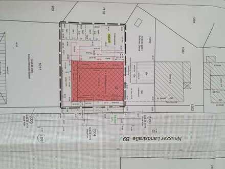 Grundstück mit Baugenehmigung für ein 5 Familienhaus direkte Rheinlage
