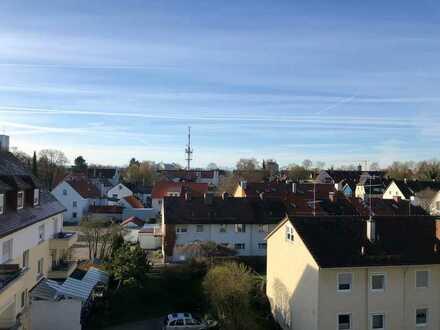 Tolle, helle 3-Zi-Wohnung mit Balkon und EBK in Memmingen