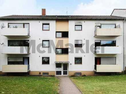 Kapitalanlage: Vermietete 3-Zi.-ETW mit Balkon in zentrumsnaher Lage von Birkenfeld