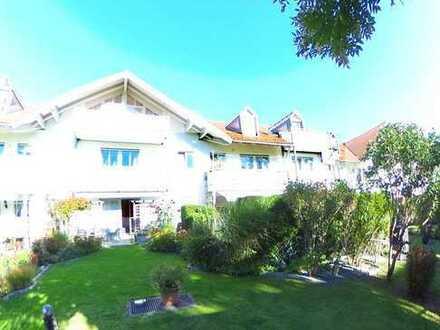 Stilvolle 2-Zimmer-Gartenwohnung mit Terrasse und EBK in zentraler Lage in Germering
