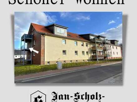 Schnell sein lohnt sich: 2-Raum-Balkon-Wohnung in Boizenburger Siedlungslage
