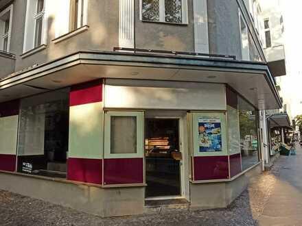 Ecklage- Café oder Bistro - angedacht