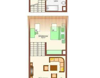 Gepflegte 2-Zimmer-Maisonette-Wohnung mit Balkon in Pfaffenhofen zu verkaufen!